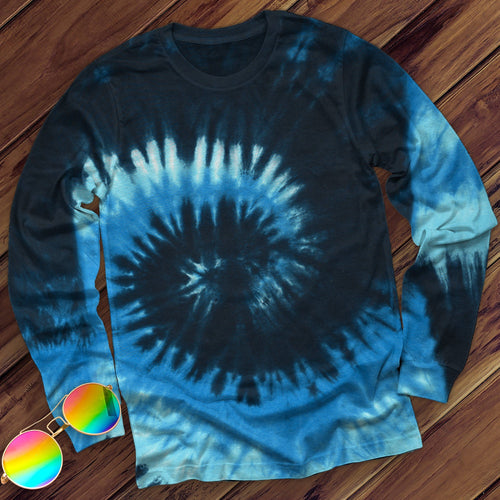 Blue Ocean Hand Dyed Long Sleeve Long Sleeve Colortone M