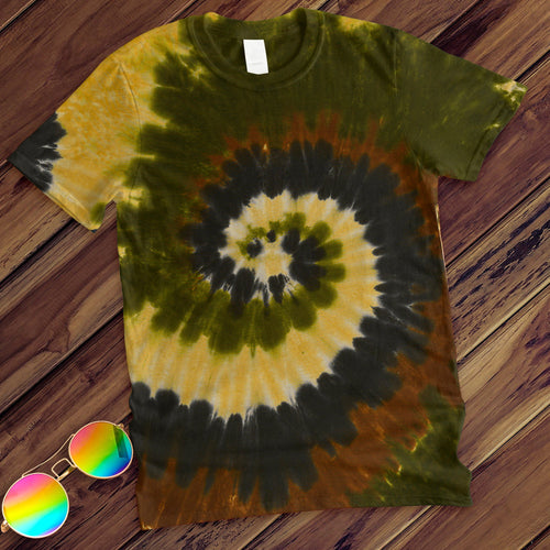 Camo Swirl Hand Dyed Tee T-Shirt Colortone Adult - M