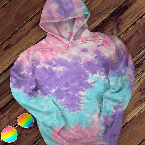 Cotton Candy Hand Dyed Pullover Hoodie Pullover Hoodie Colortone M