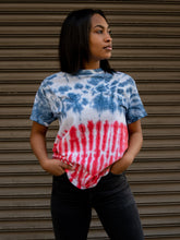 Load image into Gallery viewer, Flag Hand Dyed Tee T-Shirt Print Your Cause