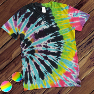 Flashback Hand Dyed Tee T-Shirt Colortone Adult - M