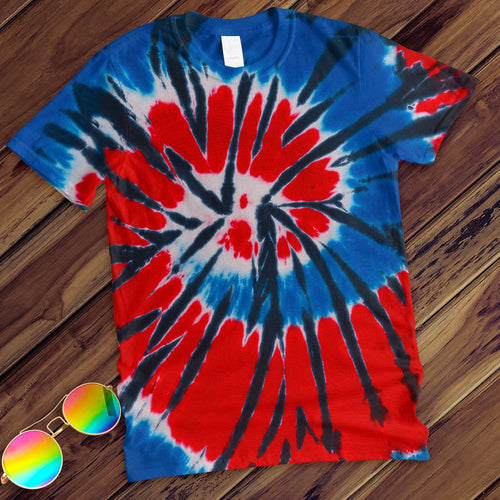 Independence Hand Dyed Tee T-Shirt Colortone Adult - M