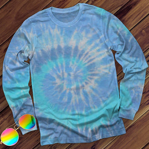 Lagoon Hand Dyed Long Sleeve Long Sleeve Colortone M