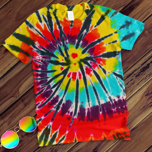 Lava Lamp Hand Dyed Tee T-Shirt Colortone Adult - M