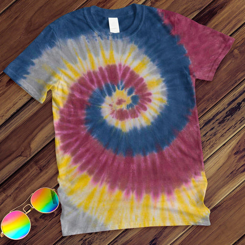 Lotus Hand Dyed Tee T-Shirt Colortone Adult - M