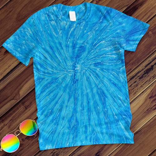Neon Blueberry Hand Dyed Tee T-Shirt Colortone Adult - M
