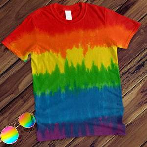 Pride Hand Dyed Tee T-Shirt Colortone Adult - M