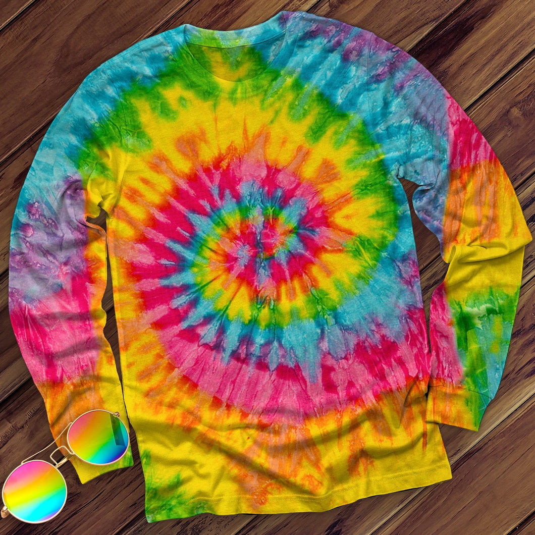 Saturn Hand Dyed Long Sleeve Long Sleeve Colortone M