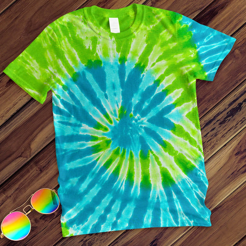 St. Lucia Hand Dyed Tee T-Shirt Colortone Adult - M