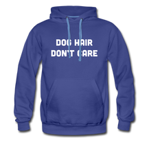 Load image into Gallery viewer, Men's Premium Hoodie - Dog Hair Don't Care - royalblue
