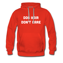 Load image into Gallery viewer, Men's Premium Hoodie - Dog Hair Don't Care - red