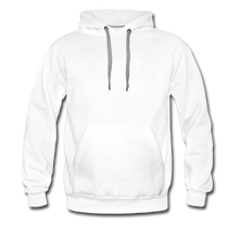 Load image into Gallery viewer, Unisex Premium Hoodie - Can My Dog Come - white