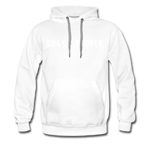 Load image into Gallery viewer, Unisex Premium Hoodie - Dogs > People - white