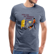 Load image into Gallery viewer, Premium T-Shirt - Dogs Are My Favorite People - heather blue
