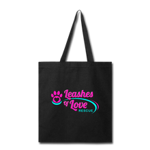 Load image into Gallery viewer, LOLR Tote Bag - black