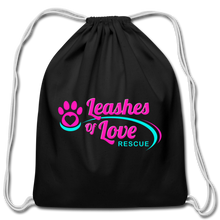 Load image into Gallery viewer, LOLR Drawstring Bag - black