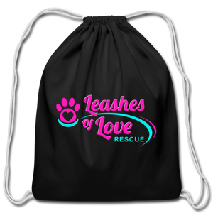 LOLR Drawstring Bag - black