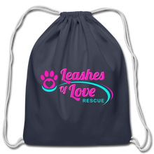 Load image into Gallery viewer, LOLR Drawstring Bag - navy