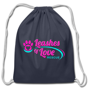 LOLR Drawstring Bag - navy