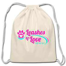 Load image into Gallery viewer, LOLR Drawstring Bag - natural
