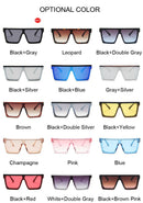 New Square Sunglasses_Retro Mirror