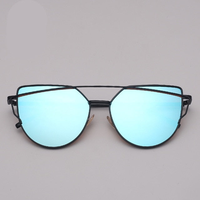 Vintage Metal Reflective Glasses