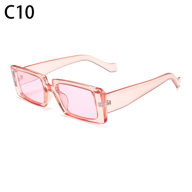 Candy Color Vintage Wide Frame Sunglass