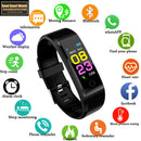 New Smart Watch Men Women Heart Rate Monitor Blood Pressure Fitness Tracker Smartwatch Sport Watch for ios android PK 116p 119P