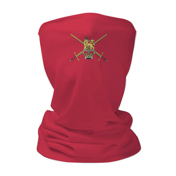 Army Ensign Red Military Snood Face Mask Covering