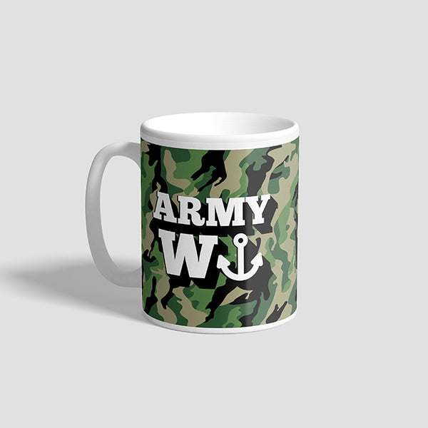 Army Wanker Ceramic Military Mug