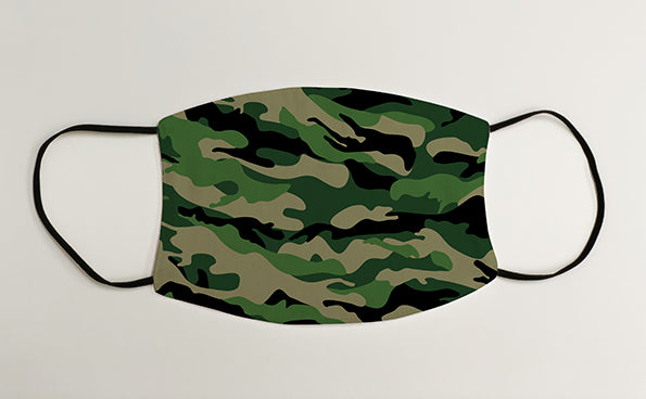 Camouflage Army Military Face Mask Covering