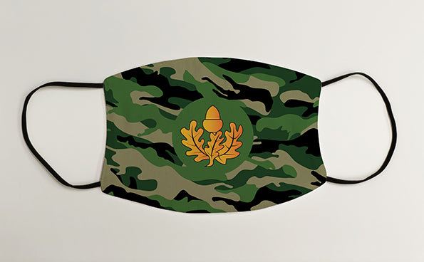 Cheshire Regiment Army Military Face Mask Covering