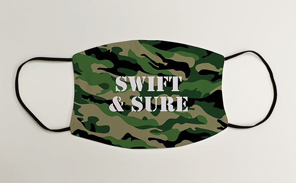 Swift & Sure Army Military Face Mask Covering