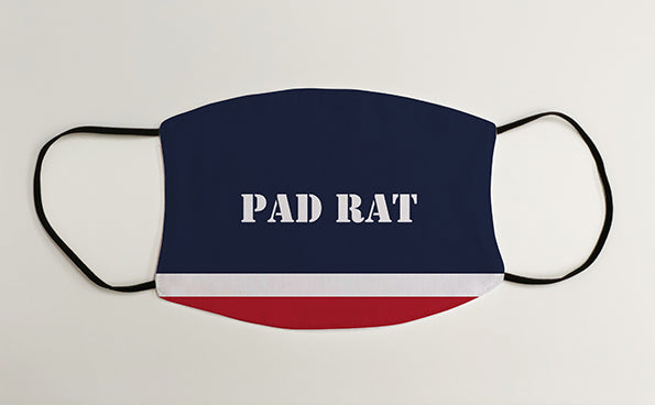 Pad Rat Navy Military Face Mask Covering