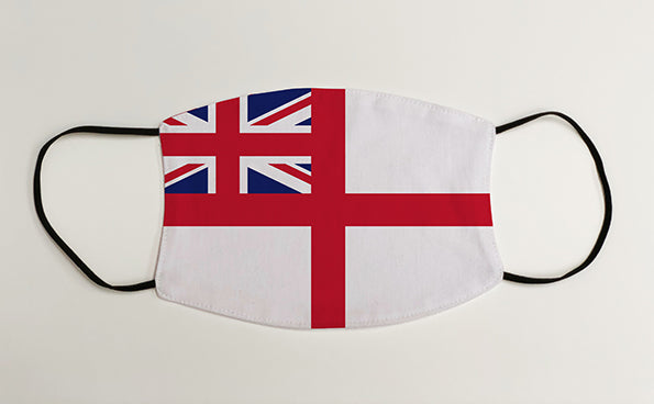Navy Ensign Military Face Mask Covering