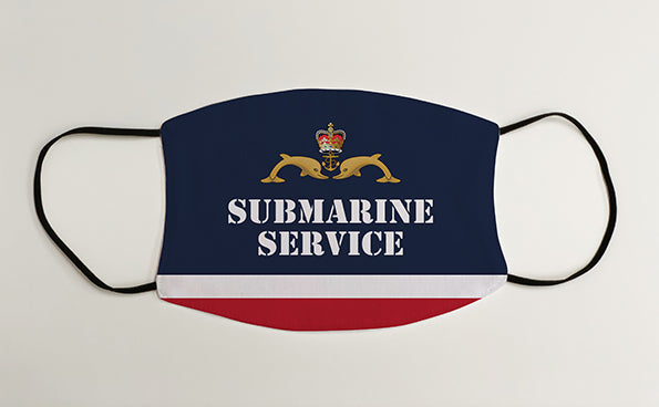 Submarine Service Navy Military Face Mask Covering