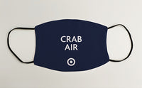 Crab Air RAF Military Face Mask Covering