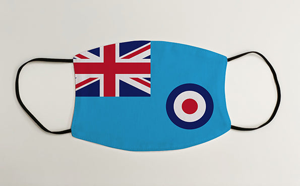 RAF Ensign Military Face Mask Covering