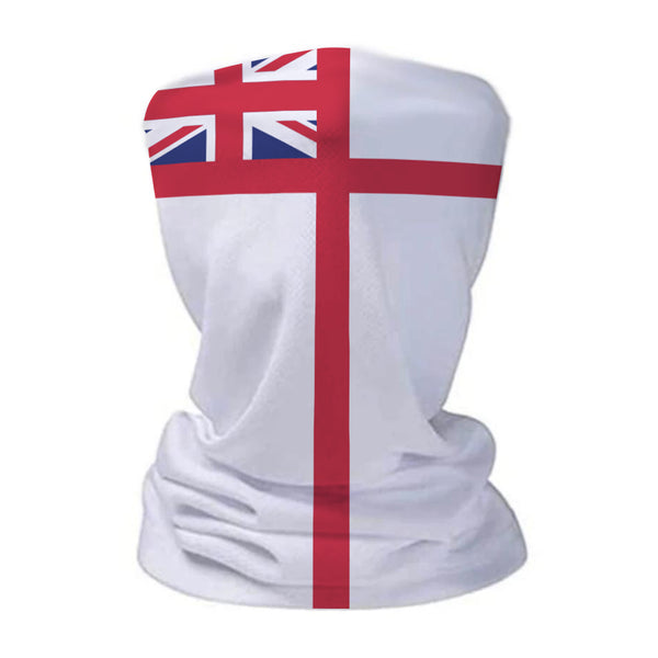 Navy Ensign Military Snood Face Mask Covering