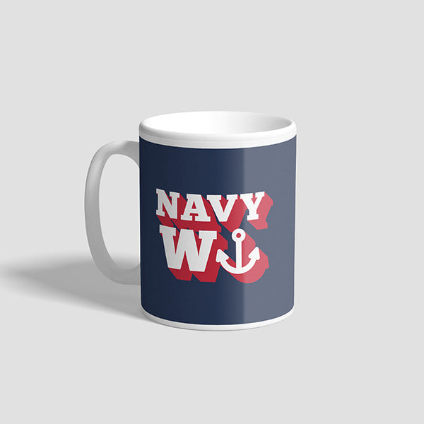 Navy Wanker Ceramic Military Mug