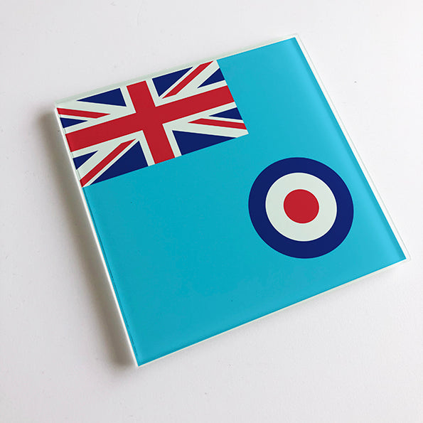 RAF Ensign Glass Coaster