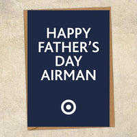 Happy Father's Day Airman Father's Day Card Military Card