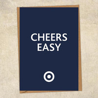 Cheers Easy RAF Greetings Card UK Military Card
