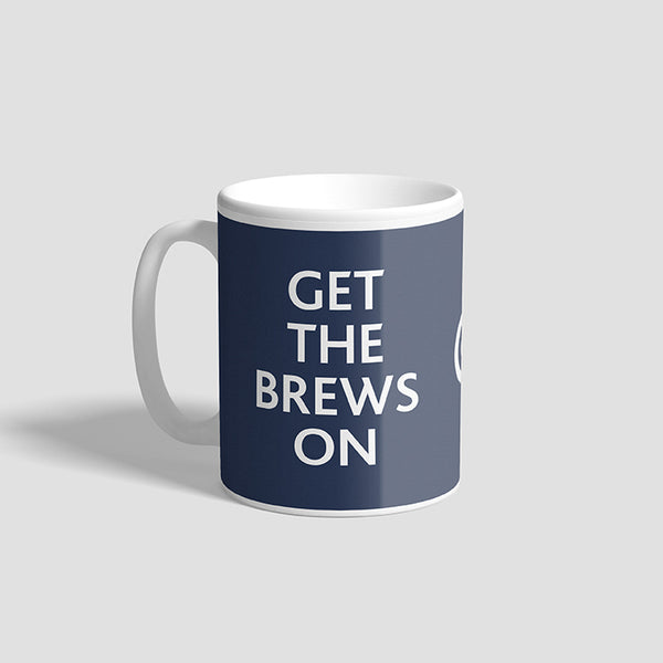 Get The Brews On RAF Ceramic Military Mug