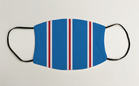 Rangers Bar Scarf Face Mask Covering