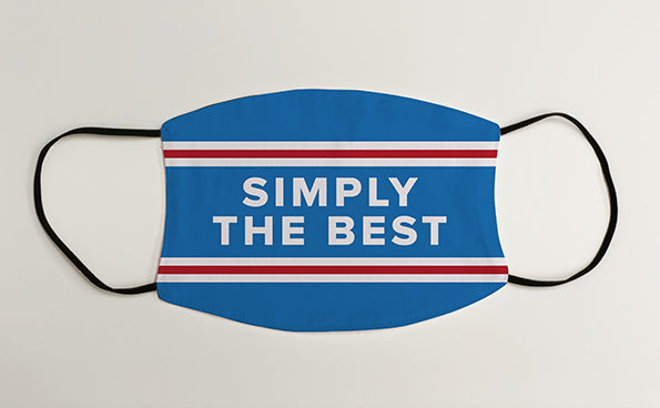 Rangers Simply the Best Face Mask Covering