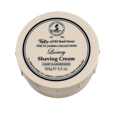 Taylor Shaving Cream 150g Bowl St James