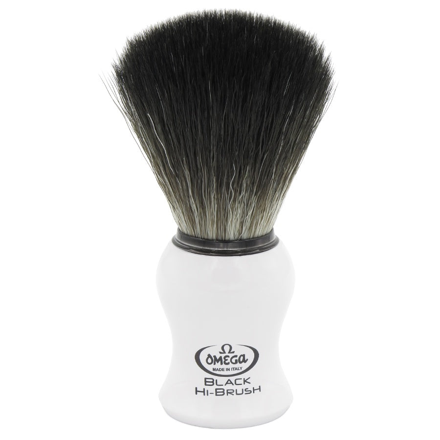 Brocha Sintetica Black HiBrush mango 6745 Blanco