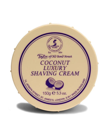 Taylor Shaving Cream 150g Bowl Coconut