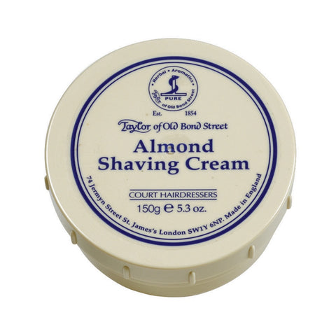 Taylor Shaving Cream 150g Bowl Almond